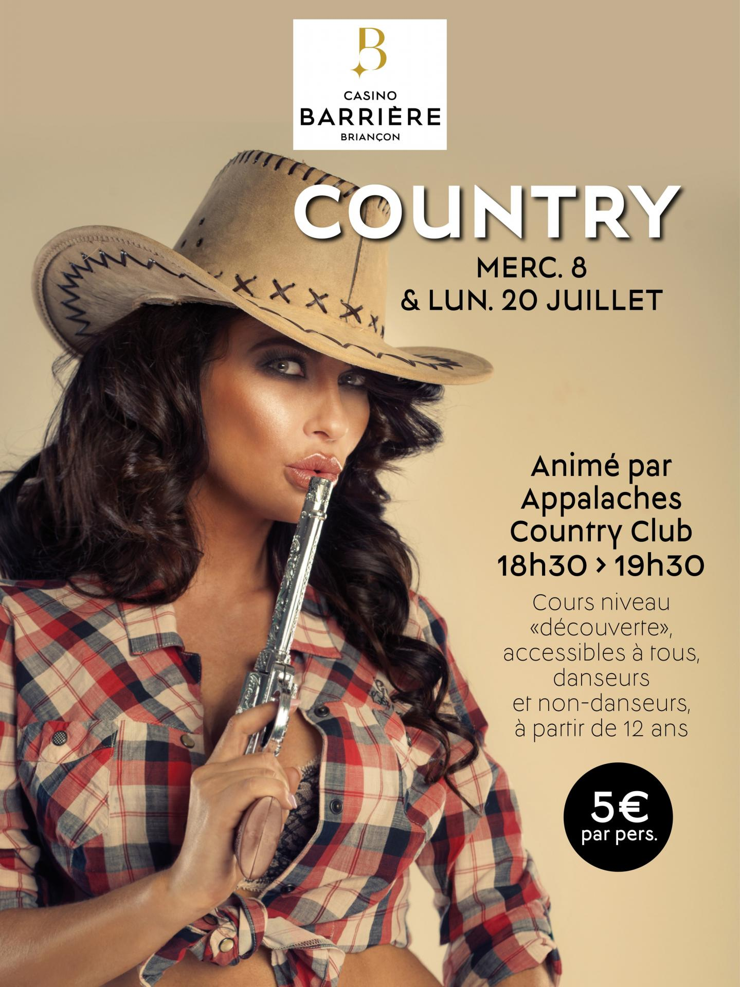 Affiche cours de country page1